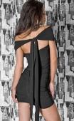 Robe de cocktail élégante noire