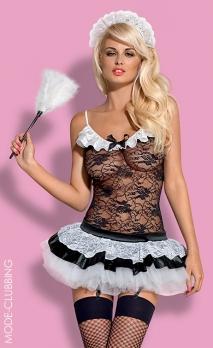 Costume sexy 5 pièces de soubrette Housemaid