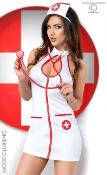 Panoplie d'infirmière et accessoires 6pc