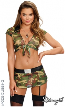 Panoplie sexy army girl