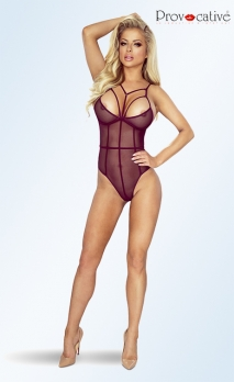 Body violet transparent strappy