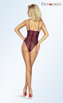 Body violet transparent strappy